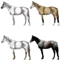 Natural Horse Adopts 9 by Quickdopts