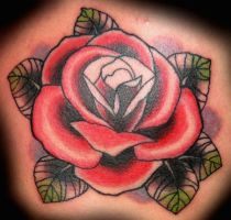 Rose Tattoo by xLennyx