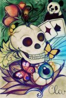 skull_color by KloeArctica
