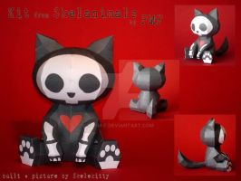 Skelanimals' Kit Papercraft by P-M-F