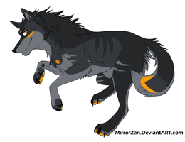 Wolf auction #1 by ThreesomeAdopts