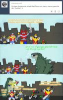 Godzilla - Super Sentai by RoFlo-Felorez