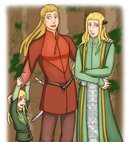 LotR: House of Oropher by Houkakyou
