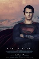 Man of Steel Poster #2 by MisterMerille