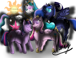 Four great princesses by Holly2001