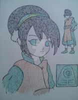 Toph From Avatar the Last Airbender by Jaime-Alice