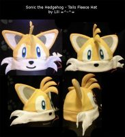 Tails Fleece Hat by LiliNeko