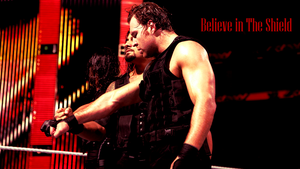WWE Believe in The Shield Wallpaper by xFadexToxNeonx3