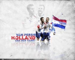 Holland Football wallpaper by LuXo-Art