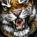 Tiger Killed It by MayanMuscle