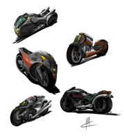 motorbike concepts 2 by TheBeke