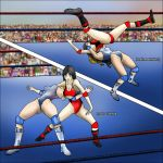 Ryoko Takada VS Heather Kattering by xZeroMan