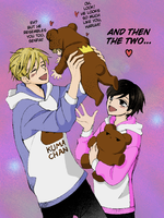 Tamaki and Haruhi by MoonFaerie24