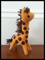 Giraffe Plush by tofuskin21