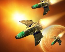 SC-347 Multi Role Fighter by JoeCool42