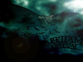 Arkham Asylum Wallpaper 2 by PolishTank48