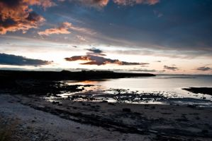 whitley bay sunset 1 by svendo