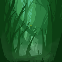 Eyes of the Forest by ClearVector