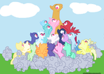 MLP: Fan Girls! Paparazzi! Attack!!!! by xXxtamdasexmonoxXx