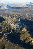 Cappadocia from the sky 3 by Heurchon
