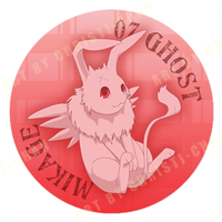 Mikage Button by christi-chan