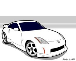 Vector Nissan 350Z by French-Touch