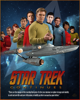 Star Trek Continues Poster 009 by PZNS