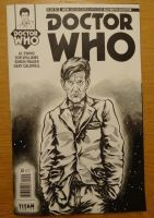 Eleventh Doctor Front by PAULSWAIN
