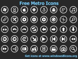 Free Metro Icons by Ikonod