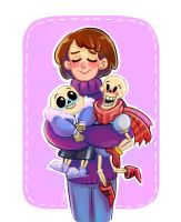 Undertale (age-swap) by Yodeki