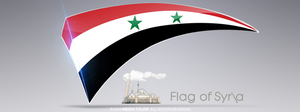 Flag of Syria by MediaColorStudio