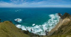 Cape Reinga Panorama by karikaiyuk