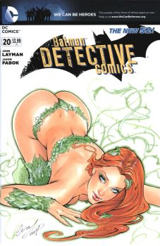 Poison Ivy Blank cover by Elias-Chatzoudis