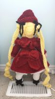Crochet Shinku (Rozen Maiden) back by Maw1227