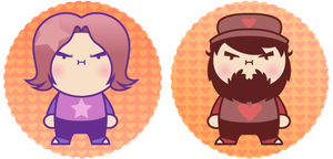 Tiny grumps by DisfiguredStick
