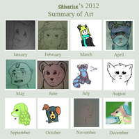 2012 Art Summary by Shiverice