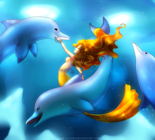 Dance of the Dolphins by Jack-a-Lynn
