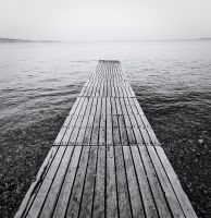 the black and white sea no.2 by herbstkind