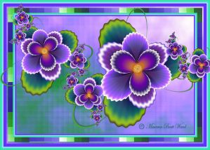 Pansies by GrannyOgg