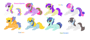 MLP Shipping Adopts For Points (CLOSED) by TearyIris
