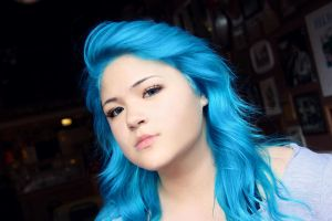Manic Panic Voodoo Blue by CXIIIth
