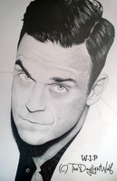 Robbie Williams W.I.P by TheDaylightWolf