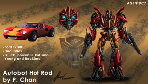 Transformers movie - Hot Rod by agentdc7