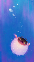 Drifting puffer by pikaole