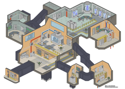 The Pixel Lab by Seigneur-Hellequin