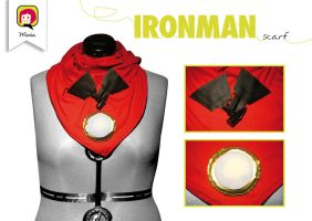 'Ironman' scarf by RidaChan
