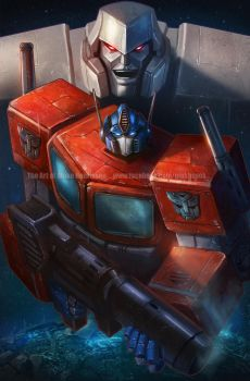 The Transformers by pinkhavok