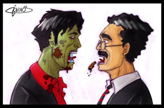 ZOMBIE DYLAN DOG by 3Dx2Y