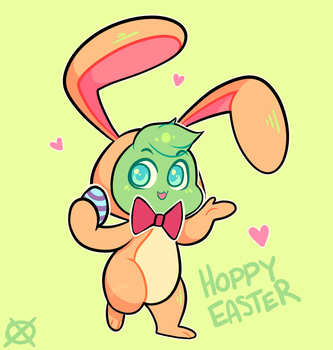 Hoppy Easter by Hiiragi-Wasabi