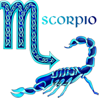 Celtic Knot Scorpio by KnotYourWorld